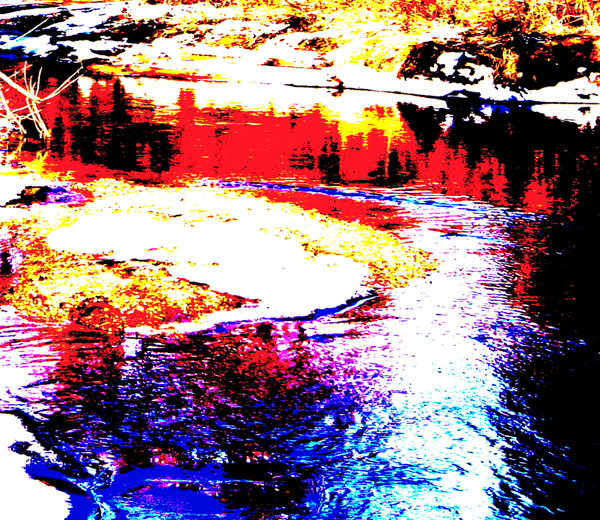 River with Bad Colours