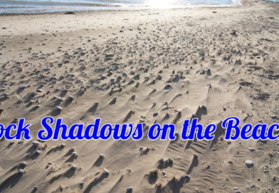 Rock Shadows on the Beach
